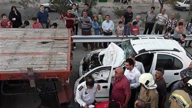 تصادفات در تهران
