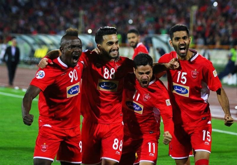 دیدار تیمهای فوتبال پرسپولیس و السد