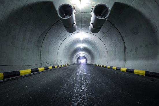 تونل شهری تهران