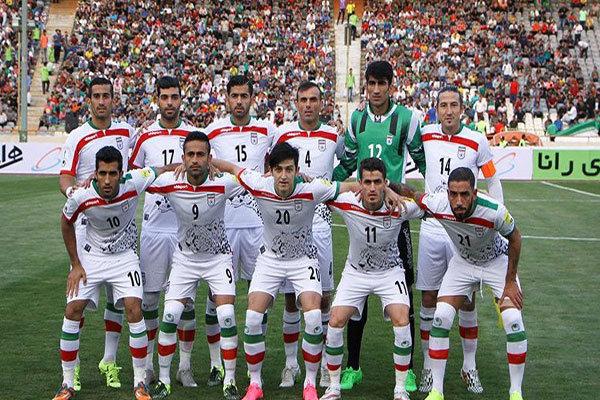 اسامی بازیکنان تیم ملی فوتبال