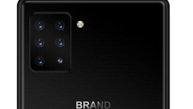 موبایلی با ۶ دوربین