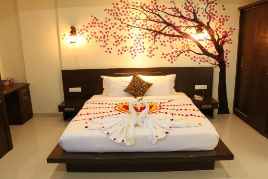 تزیین اتاق با ساتن تزیین اتاق خواب عروس و داماد - تزیین اتاق خواب عروس با نمد ...