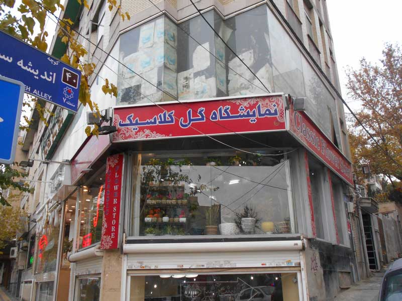 فروشگاه گل کلاسیک
