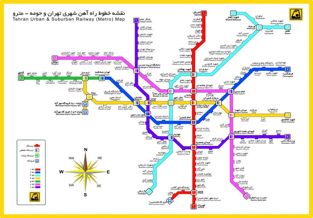 راه آهن تهران