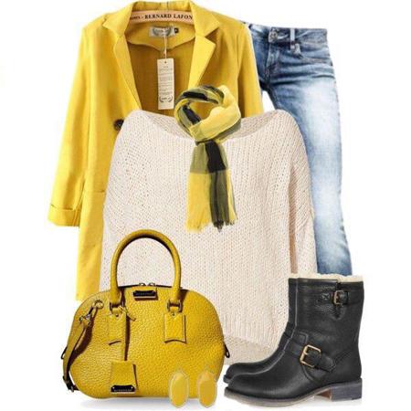 لباس های رنگی