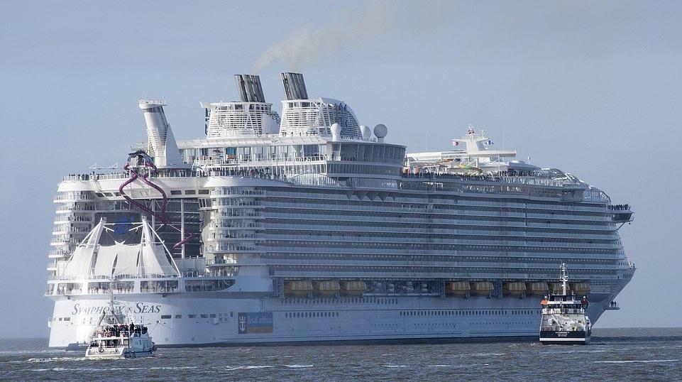 تصاویر کشتی کروز ۱٫۳۵ میلیارد دلاری سمنونی دریاها